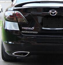 2 x Mazdaspeed Car Sticker Decal Mazda Miata RX8 RX7 MX5 Sport JDM Zoom Zoom CX7