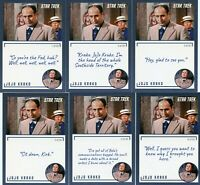 Star Trek Archives & Inscriptions card 65 Jo Jo Krak all 20 different Variations