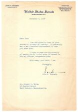 John F. Kennedy - Typed Letter Signed - Begins Campaign by Courting DNC Delegate