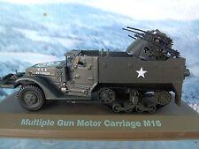 1/43  ATLAS  Military Multiple gun motor carriage M16