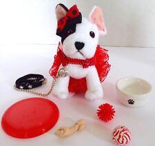 "Leash & Collar For Grace Dog Bon Bon American Girl Doll 18"" Accessories Fit Pet"