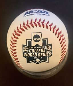 2021 RAWLINGS OFFICIAL NCAA COLLEGE WORLD SERIES BASEBALL BALL MISSISSIPPI ST