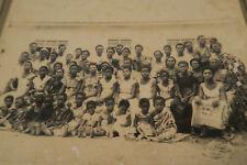 Altes Foto 21 x 16cm Gesellschaft Kente klassisches Porträt Togo Afrika Afrozip