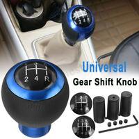 5 6 marce pelle universale manuale cambio auto bastone Shifter pomello W / viti