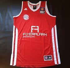 """FC BAYERN MUNCHEN MUNICH Basketball Jersey Adidas BBL Bundesliga """"Sz. M"""""""