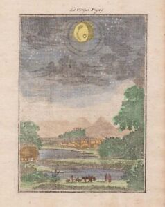 1685 Mallet Engraving of the Planet Venus