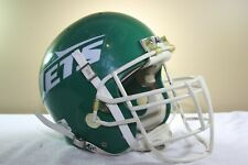 Vtg 1988 NEW YORK JETS Game Used Worn Schutt BIKE AiR Power Football Helmet