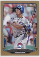 2013 Bowman Baseball Gold #132 Adrian Beltre Texas Rangers