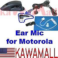 Ear Mic for Motorola HT1250 GP328 HTABEBD