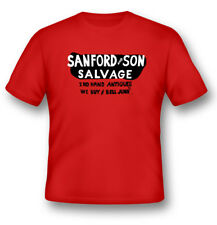 Sanford and Son Salvage T-Shirt * Logo from the Driver's Door of the Truck!