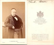 Pierson, Paris, Charles-Augustin Sainte-Beuve, écrivain français, circa 1860 Vin