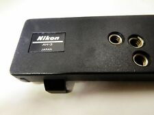 Nikon AH-3 Plate tripod for MD-4 motor drive F3 adapter bracket