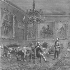 ST.JAMES'S PALACE. Council chamber, St.James's Palace, 1840. London c1880