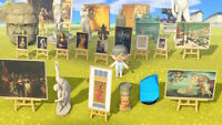 All Fake Statues Paintings Animal Crossing New Horizons