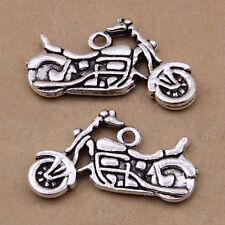 10pc Tibetan Silver Charm Pendant Motorcycle Accessories Wholesale N778