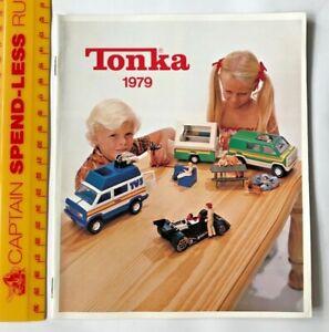 VINTAGE 1979 TONKA TIN TOYS AUSSIE MITES TINY MINI REGULAR MIGHTY CATALOGUE NM!!