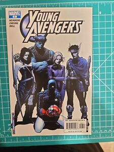 YOUNG AVENGERS #6 1st Appearance of Cassie Lang as Stature. See description/pics