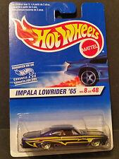 1996 Hot Wheels Impala Lowrider '65 No8 de 48 (Spanish)- 18207