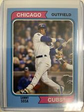 New listing Sammy Sosa 21/25 2020 Topps Archives Blue SSP Parallel Chicago Cubs