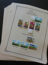 TUVALU : Absolutely Beautiful, almost all MOG collection on album pgs Cat $305