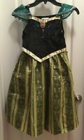 Frozen Princess Anna Coronation Dress Size M 7/8 Disney Parks Costume Gown NEW