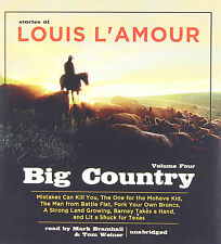 Big Country, Vol. 4 : Stories of Louis L'Amour by Louis L'Amour (2010, CD,...