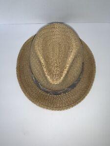 Ventige Resistol Self Conforming Straw Panama Hat Sz 7 1/4 W/ Original Price Tag