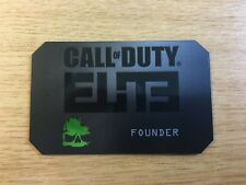 Call Of Duty Modern Warfare 3 Collectible Rare ELITE FOUNDER CARD ** NEW & MINT