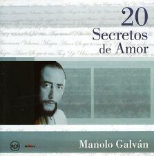 Manolo Galvan - 20 Secretos de Amor [New CD]