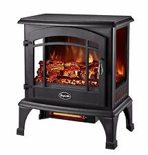 Comfort Glow Sanibel Quartz Infrared Electric Fireplace Stove Space Heater