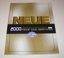 Werkstatthandbuch Teile und Service Harley-Davidson - 2000er Modelle!