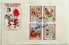 The Gambia First Day Cover Stamps The Bicentenary Of The Brothers Grimm Disney