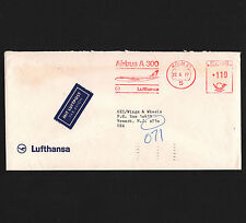 OPC 1977 Germany Koln Lufthansa Airbus A300 Francotyp Private Advertising Meter
