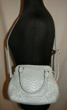 Merona light blue faux ostrich purse, good used condition