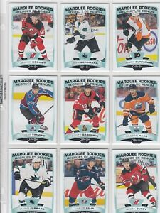 2019-20 O PEE CHEE MARQUEE ROOKIE 19 DIFFERENTS CARDS  near mint  LOT 61     a