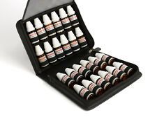 DHU Etui aus Leder schwarz  für 24 für DHU Flaschen TASCHENAPOTHEKE Homöopathie