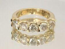 1.75 ct Round Cut diamond engagement Ring 14k Yellow Gold Anniversary Style