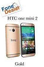HTC One 2 Oro Sbloccato Mini Smartphone likenew