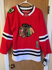 CHICAGO BLACKHAWKS NWT Adidas Climalite Authentic NHL Hockey Jersey Size 46