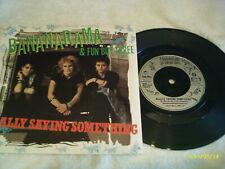 """BANANARAMA & FUN BOY THREE - REALLY SAYING SOMETHING - 7"""" VINYL RECORD"""