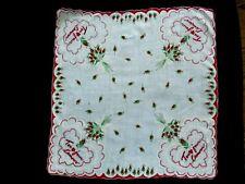Rare Vintage Valentine Hankie Love Always /French Tou Jour Lamour /Handkerchief