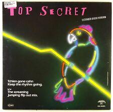 "12"" Maxi - Top Secret - Tchien Gone Cahn Keep The Rhythm Going.  - D385"