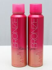 2 PCS Victoria's Secret BRONZ INSTANT BRONZING TINTED BODY SPRAY 3.72 Oz X 2