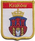 Kraków Poland Embroidered Patch - LAST FEW