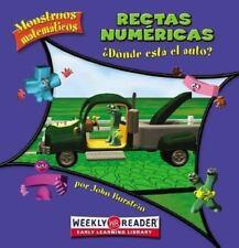 Rectas numericas / Number Lines: Donde Esta El Auto? / How Far to the-ExLibrary