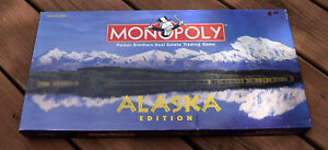Alaska Edition Monopoly Board Game Replacement Parts & Pieces 1997 USAopoly