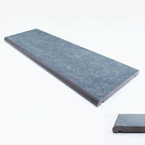 "Porcelain Coping Stone - 200x600mm - 8"" - Dark Grey - not concrete coping stone"