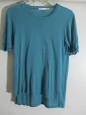 C&C California Women's loose fit Tee drapey roll sleeve T-Shirt size small  NWT