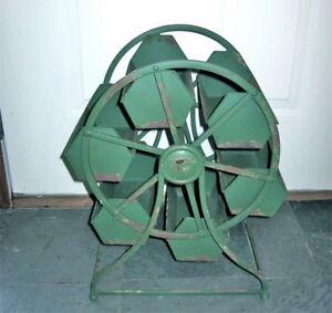 "Vintage Industrial Revolving Tray ""Ferris wheel Caddy/Hopper "" Revolving Display"