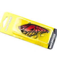 "BOOYAH Hard Knocker Lipless Rattle Crankbait Lure 3"" 3/4oz - TOLEDO GOLD"